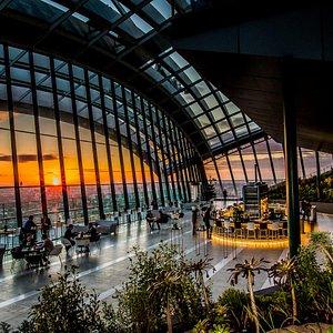Sunset at Sky Garden