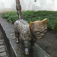 Кот с лицом Джентельмена.