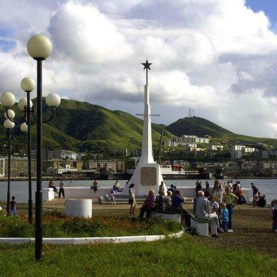 Памятник освободителям Холмска