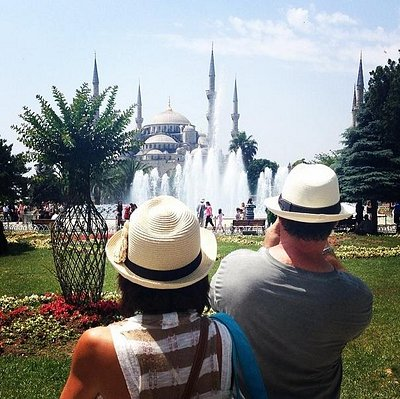 From a private Istanbul tour at Sultanahmet (old city of Istanbul)
