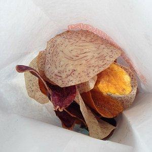 Fresh bag of HOT chips