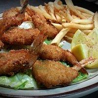 Jumbo Shrimp and Fries
