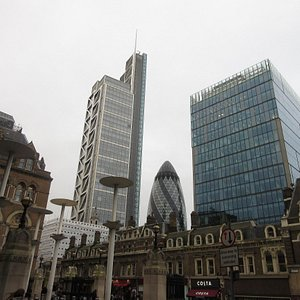 Heron Tower from Liverpool Street
