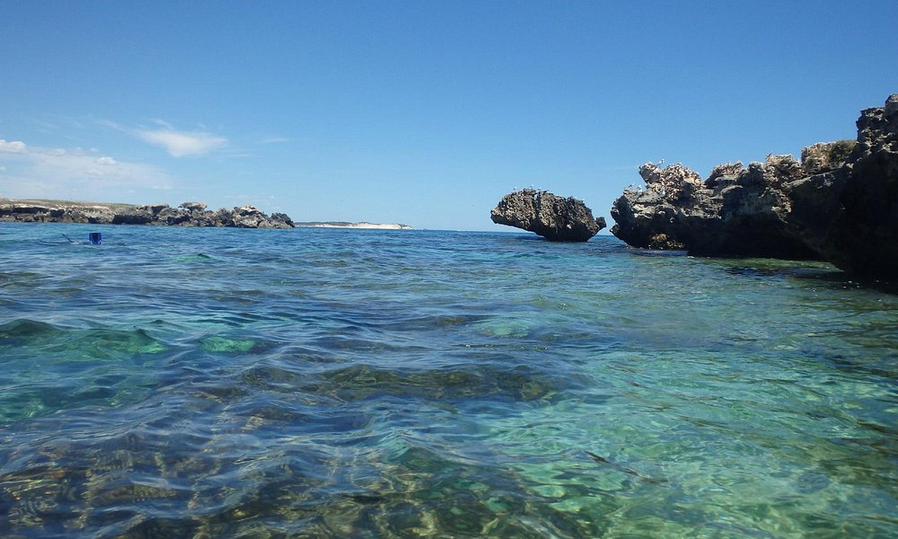 Snorkelling area south of the island
