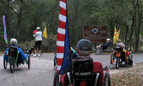 Trailhead, Gainesville-Hawthorne State Trail