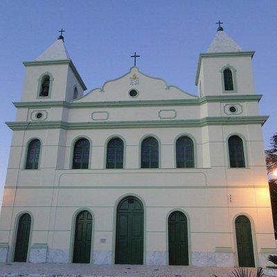 Fachada da Igreja Matriz de São Bernardo.