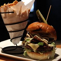Awesome gourmet burgers