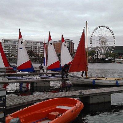 Salthouse Dock Dinghy Sail