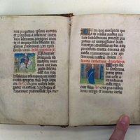 Getijdenboekje ca. 1650 perkament