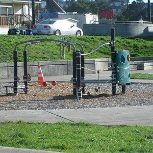 Coast Park playground, Newport