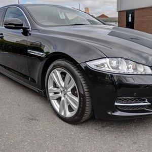 We have 2 new Jaguar XJ long wheelbase cars