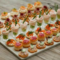 Gourmet Food Parlour canapes