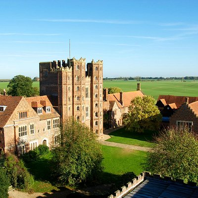 General view of Layer Marney Tower