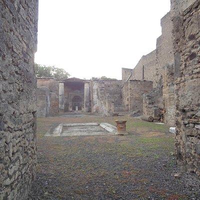 Donadio, em Pompeia!!!