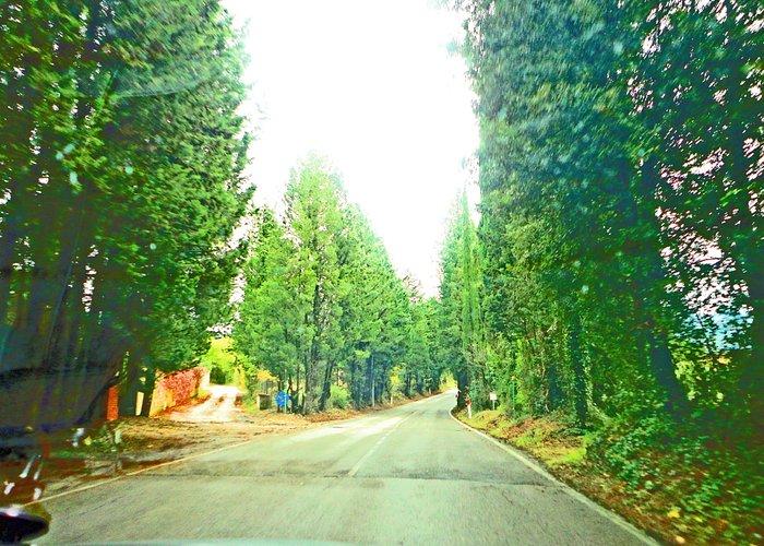 indo para Greve in Chiantti