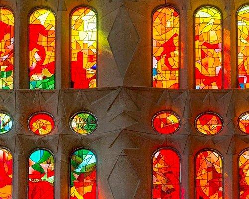 Sagrada Familia. Vidrieras