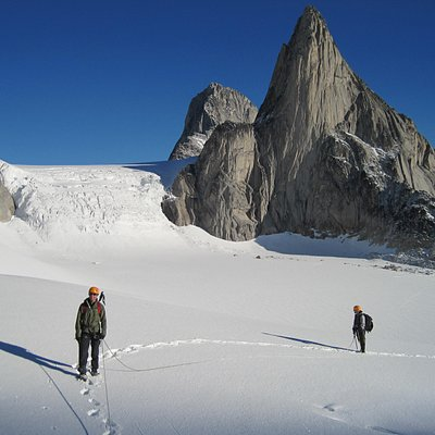 Mountaineering in The Bugaboos, Canada