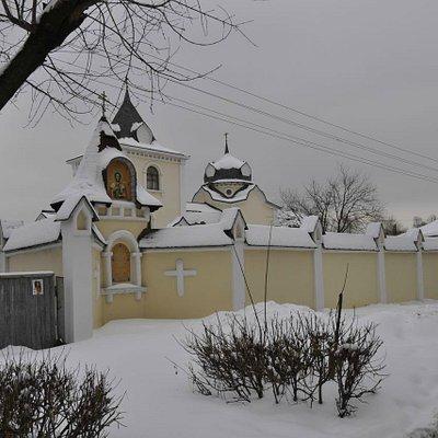 Храм блаженной Ксении Петербургской. Новая Купавна. 6 февраля 2015 года.