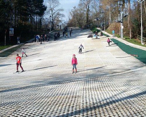 Madely dry ski slope Telford Jan 2015
