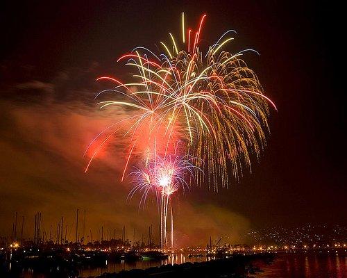 Fourth of July at the Santa Barbara Waterfront