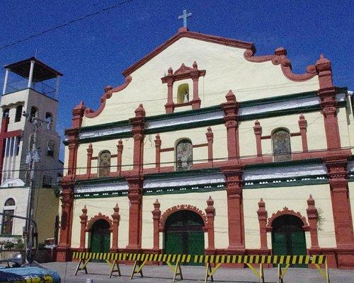 Church entrance facing the street