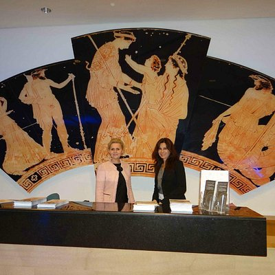 The persons in charge of the Museum