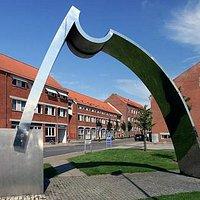 Randers 1. byport skulptur