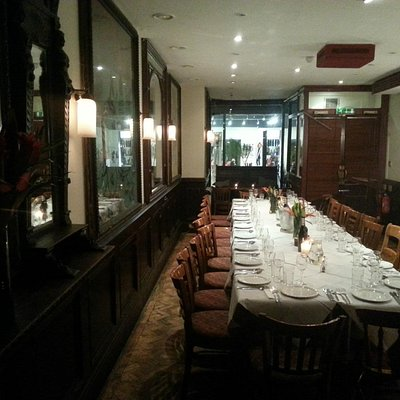 Private Dining English Restaurant Gin Palace