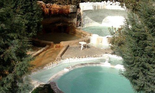 karahayıt suyu ve pamukkale suyu havuzları