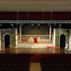 Palco del Teatro San Raffaele