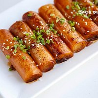 Fried Rice Roll with Soya Sauce