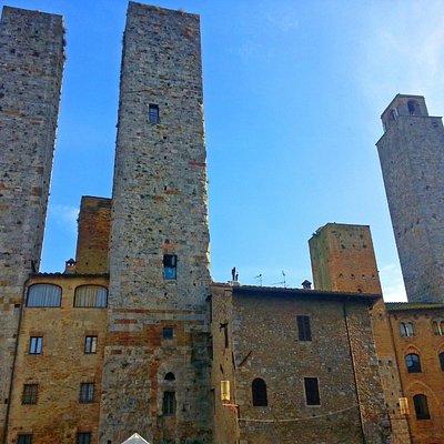 San Gimignano e as torres