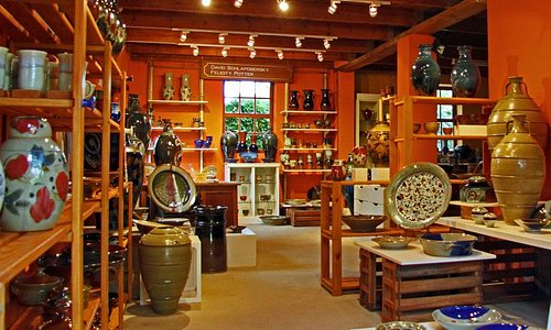 The Gallery at Bukkenburg Pottery Studio and Guest Cottage