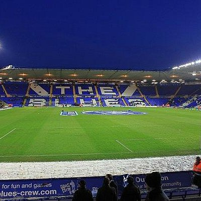 St. Andrew's Stadium. Inside