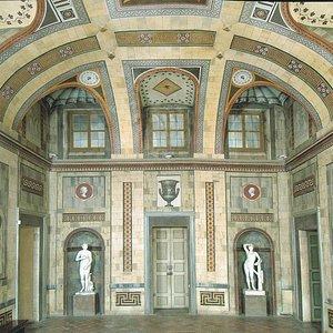 La sala etrusca