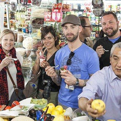 Taste endemic Mexican ingredients at Mercado de San Juan.