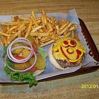 Home of the Happy Face Hamburger