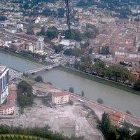 Funicular - Transporte público de acesso Trento à Monte Bondone