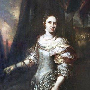 "Ян де Бан ""Женщина в образе клеопатры"" конец XVII века"