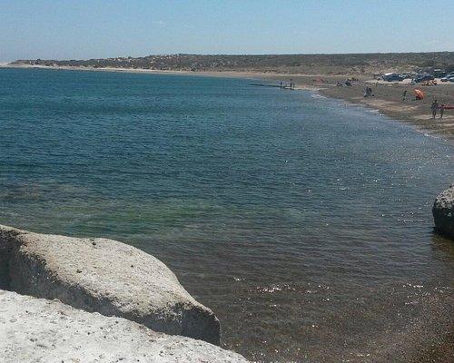 Desde las restingas marea subiendo