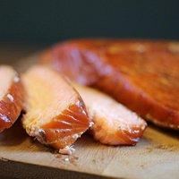 Smoked salmon - traditional style