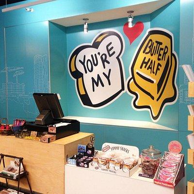Austin Visitor Center mural