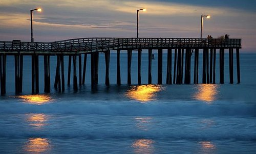 The pier in Cayucos