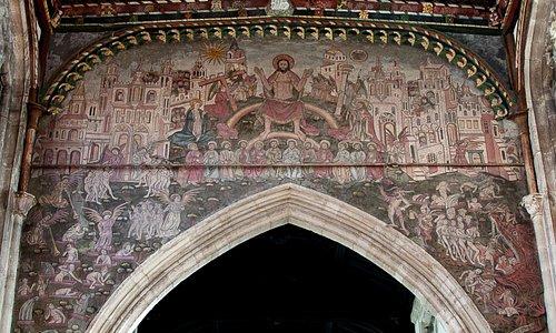 St thomas's Doom Painting