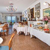 Sala colazioni interna