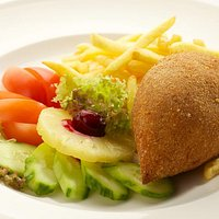 They are famous for their chicken Kiev