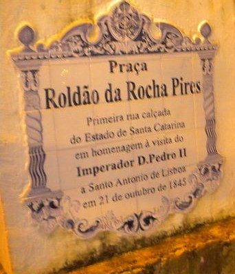 Registro da ilustre visita do imperador Dom Pedro II em 1845
