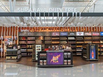 Surabaya Duty Free - Liquor and Tobacco Area