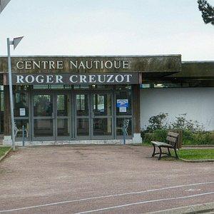 L'entrée du centre nautique