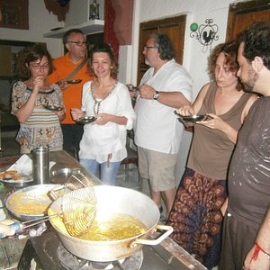Italian Griops cooking lesson